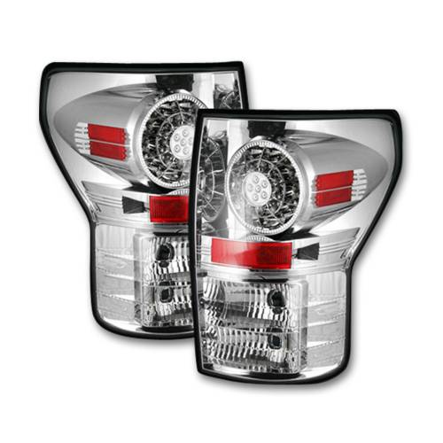 Lighting - LED Tail Lights - Recon Truck Accessories - 264188CL | LED Taillights – Clear Lens