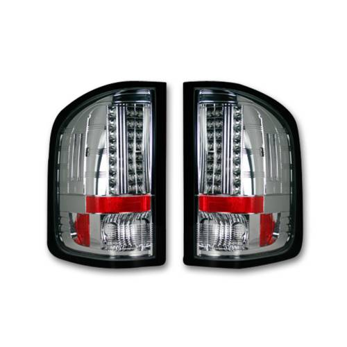 Lighting - LED Tail Lights - Recon Truck Accessories - 264189CL | LED Tail lights - Clear Lens