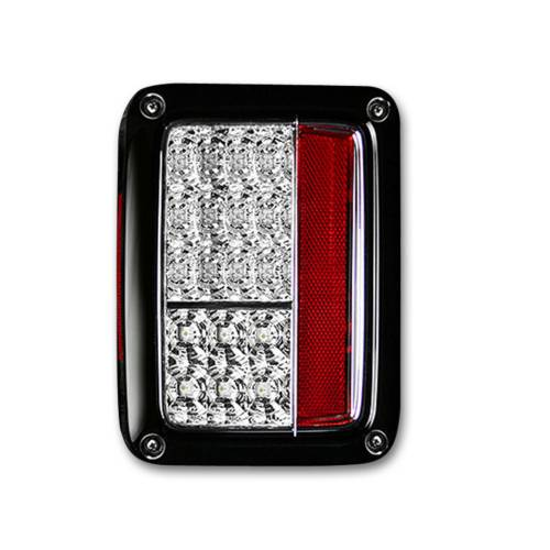 Lighting - LED Tail Lights - Recon Truck Accessories - 264234CL | LED Taillights – Clear Lens