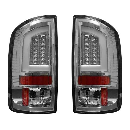 Lighting - LED Tail Lights - Recon Truck Accessories - 264371CL | OLED Tail Lights – Clear Lens