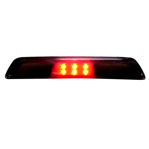 Recon Truck Accessories - 264113BK | Red LED 3rd Brake Light Kit w/ White LED Cargo Lights – Smoked Lens - Image 3