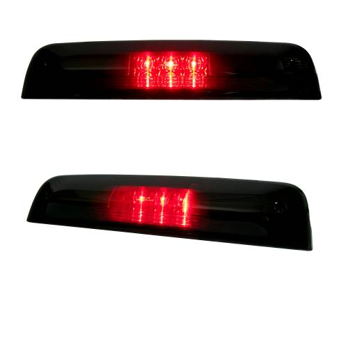 Recon Truck Accessories - 264115BK | Red LED 3rd Brake Light Kit w/ White LED Cargo Lights – Smoked Lens - Image 2