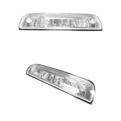 Recon Truck Accessories - 264115CL | Red LED 3rd Brake Light Kit w/ White LED Cargo Lights – Clear Lens - Image 2