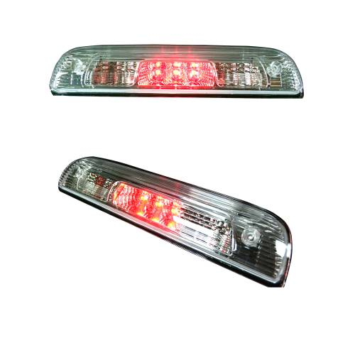 Recon Truck Accessories - 264115CL | Red LED 3rd Brake Light Kit w/ White LED Cargo Lights – Clear Lens - Image 3
