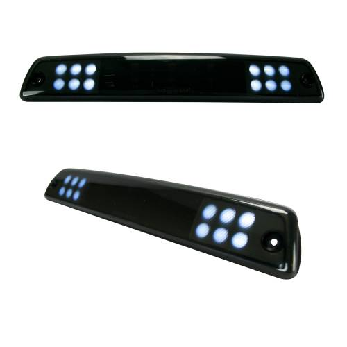 Recon Truck Accessories - 264117BK | Red LED 3rd Brake Light Kit w/ White LED Cargo Lights – Smoked Lens - Image 3