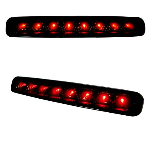 Recon Truck Accessories - 264119BK | RED LED 3rd Brake Light – Smoked Lens - Image 2