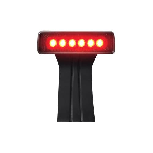 Lighting - LED Third Brake Lights - Recon Truck Accessories - 264127CL | RED LED 3rd Brake Light – Clear Lens