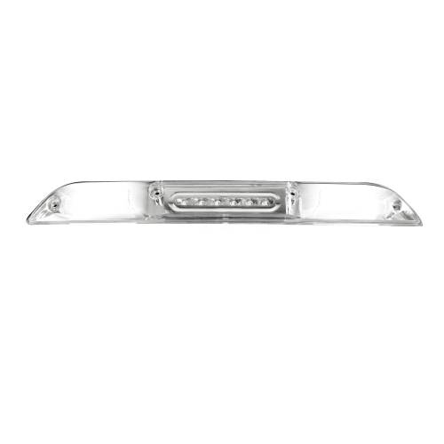 Recon Truck Accessories - 264129CL | ULTRA HIGH POWER Red LED 3rd Brake Light Kit w/ White LED Cargo Lights - Clear Lens - Image 2