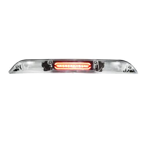 Recon Truck Accessories - 264129CL | ULTRA HIGH POWER Red LED 3rd Brake Light Kit w/ White LED Cargo Lights - Clear Lens - Image 4