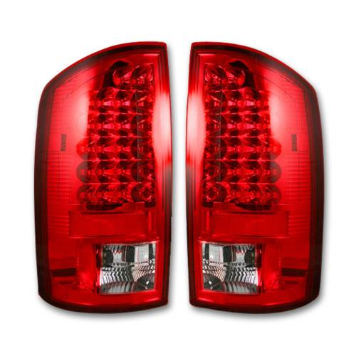 Lighting - LED Tail Lights - Recon Truck Accessories - 264171RD | LED Tail Lights – Red Lens