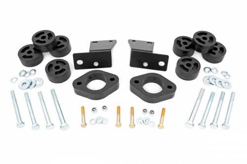 Suspension - Body Lift Kits - Rough Country Suspension - RC614 | 1.25 Inch Jeep Body lift Kit