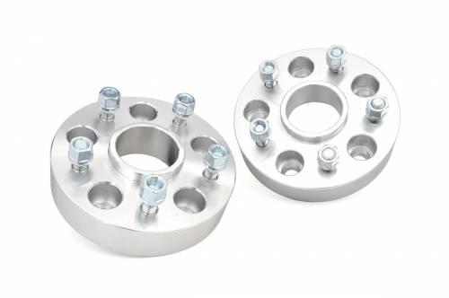 Wheels - Wheel Spacers - Rough Country Suspension - 10091 | 2 Inch Dodge, Ram Wheel Spacers