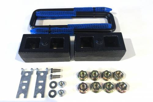 Suspension Components - Block & U Bolt Kits - Lowriders Unlimited - TT-104 | 2 Inch Toyota Rear Block & U bolt Kit