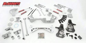 Mcgaughys Suspension Parts - 50000 | 7 Inch GM Suspension Lift Kit | Silver