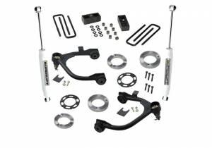Suspension - Suspension Lift Kits - SuperLift - 3 Inch GMC Suspension Lift Kit w/ Superride Shocks