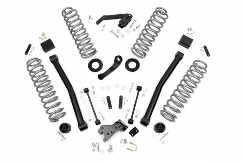 Suspension - Suspension Lift Kits - Lowriders Unlimited - Jeep 3.5 Inch Lift Kit | Control Arms
