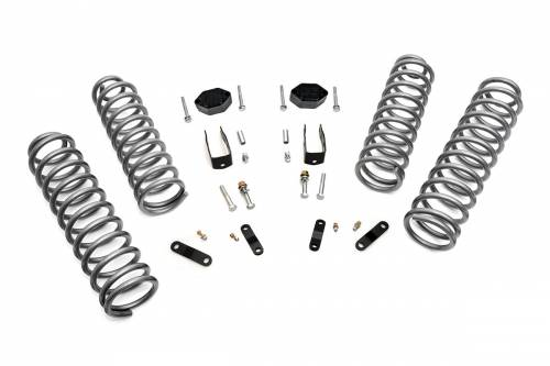 Suspension - Suspension Lift Kits - Rough Country Suspension - 624 | 2.5 Inch Jeep Suspension Lift Kit