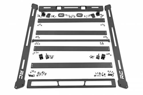 Rough Country Suspension - 10605 | Jeep Roof Rack System