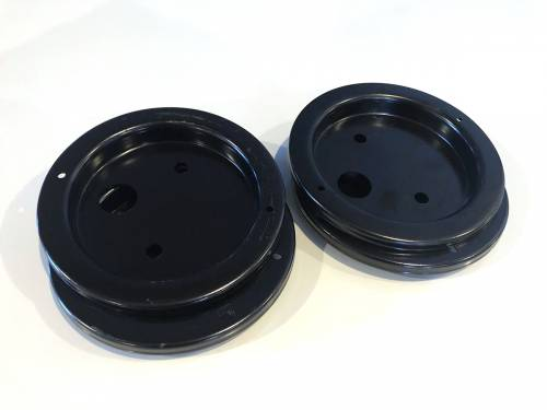 Tow & Haul - Replacement Air Springs - Air Lift Company - 11967 | Roll plate (black powder coated).
