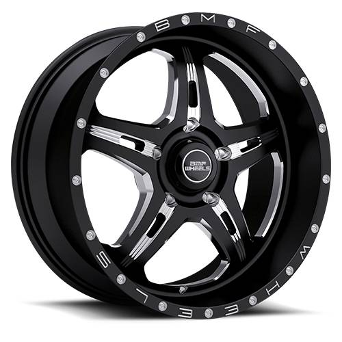 Wheels - BMF Wheels - BMF Wheels - 467B-090515012| 20X9 F.I.T.E. Death Metal 5X150mm, 0mm