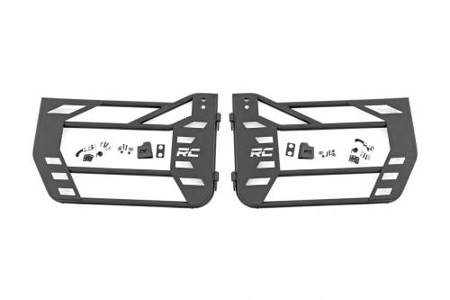 Rough Country Suspension - 10587 | Jeep Steel Tube Doors | Rear
