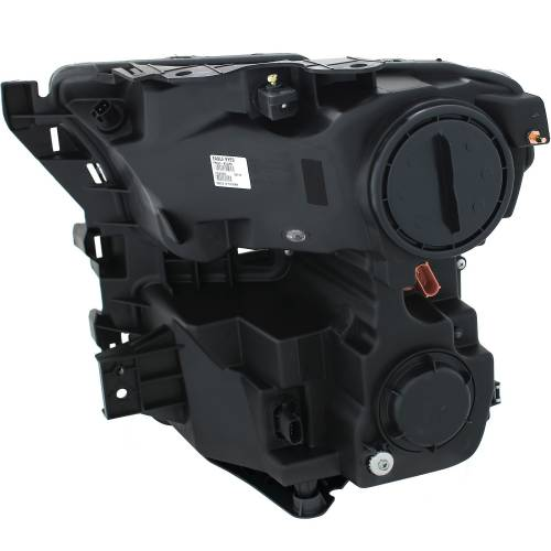 Anzo USA - 111348 | Projector Headlights w/ Plank Style Design Chrome w/ Amber