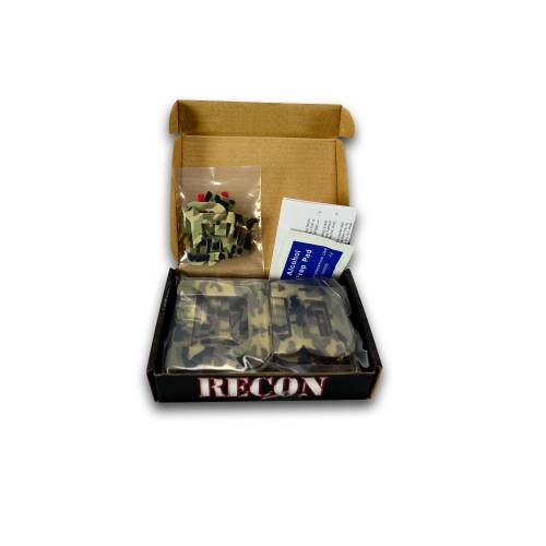 Recon Truck Accessories - 264181DC | Super Duty Raised Letter Inserts - Desert Camo - Image 2